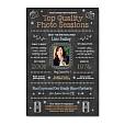 Photography Studio Marketing Chalkboard Template