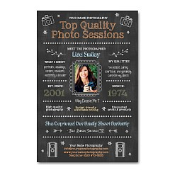 Photography Studio Marketing Chalkboard Template