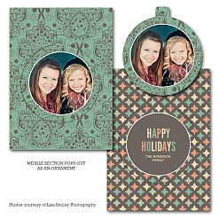 Merry Fig Luxe Pop Card Template