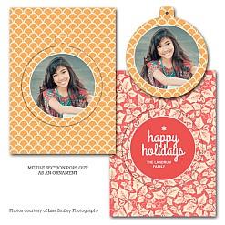 Be Joyful Luxe Pop Card Template