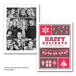 Holiday Stack Holiday Card Template
