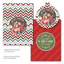 Cozy Christmas Luxe Pop Card