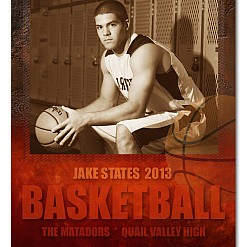 Jake States Basketball Sports Template