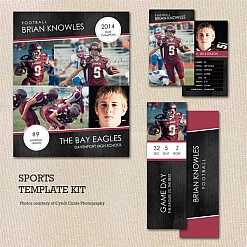 The Ultimate Sports Template Kit
