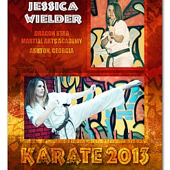 Karate Kid Sports Template