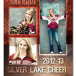 Silver Lake Cheer Sports Template