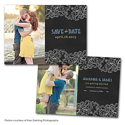 Sparrow Lane Save the Date Card Template