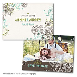 Riffles Save the Date Card