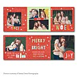 Dreamy Noel Accordion Holiday Card