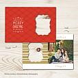 Fresh Wrap Folded Holiday Card