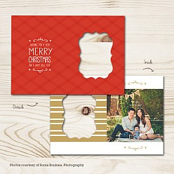 Fresh Wrap Folded Holiday Card