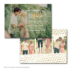 Love Charm Save The Date Card