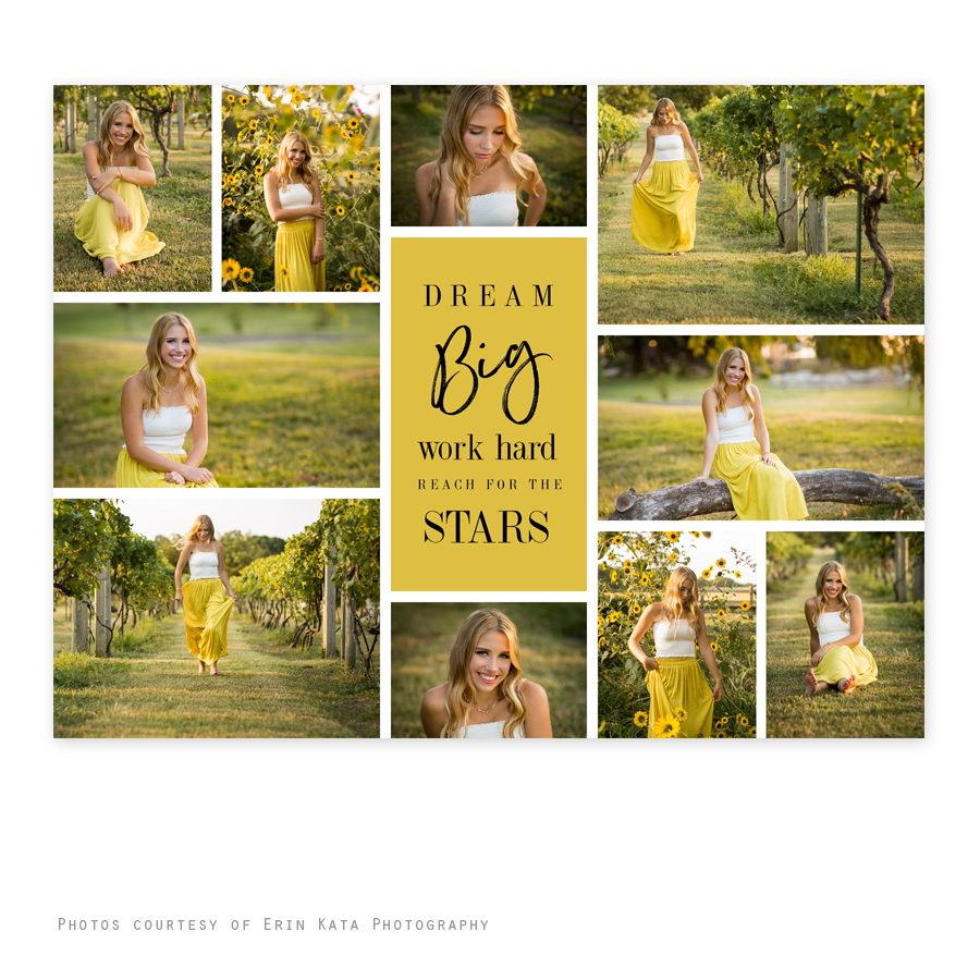 Dream Senior Collage 30 x 40   My Product Catalog
