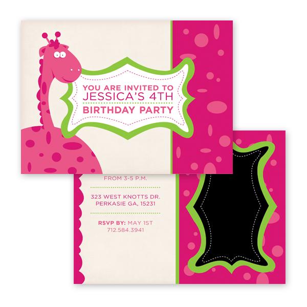Joylista Birthday Invitation Card 5x7